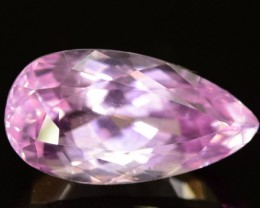 Huge Size Flawless 11.70  ct Natural Hot Pink Kunzite from Afghanistan