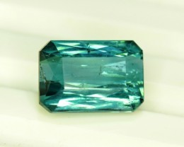 Certified 4.30 cts Natural Indicolite Tourmaline from Afghanistan