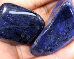 225 cts Dumortierite Tumbled Stone (PARCEL)   CG-2224