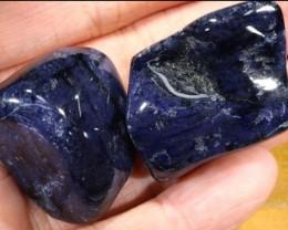 166 CTS Dumortierite Tumbled Stone (PARCEL)  CG-2225