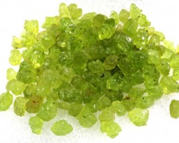 100CTS PERIDOT ROUGH PARCEL RG-2124
