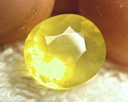 4.90 Carat Lemon Yellow Mexico Fire Opal - Gorgeous
