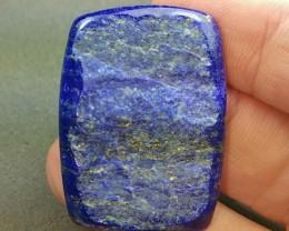 61ct 36mm Lapis Lazuli cabochon AAA
