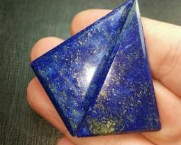 Pair 93ct 48mm Lapis Lazuli cabochon AAA