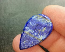 17ct 28mm Custom Cut Lapis Lazuli cabochon AAA