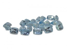 2 ct Aquamarine 8x6 Cushion