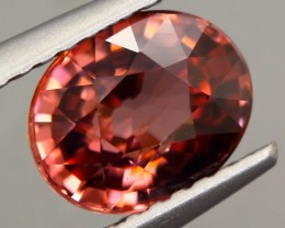 2.10ct NATURAL PINK COLOR OVAL CUT ZIRCON GEMSTONE