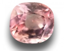 Natural Orange Pink sapphire |Loose Gemstone|New Certified| Sri Lanka
