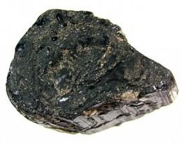 112.50CTS TOURMALINE BLACK NATURAL ROUGH RG-2157