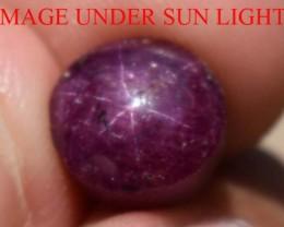 6.05 Carats Star Ruby Beautiful Natural Unheated & Untreated