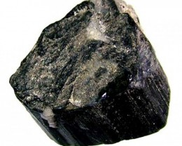 70CTS TOURMALINE BLACK NATURAL ROUGH RG-2159