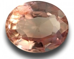Natural Pinkish Orange padparadscha|New Certified| Sri Lanka
