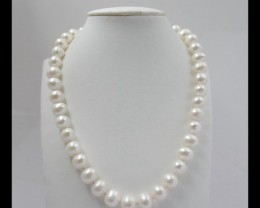 Natural Pearl Loose Beads,1 Strand,10x10mm,340ct,44cm In The Length(1705052