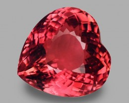 9.46 Cts Wonderful Heart Shape Natural Tourmaline