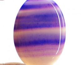 Genuine 107.60 Cts Oval Shape Purple Onyx Cab
