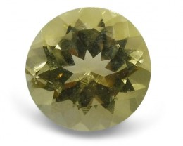 1.55 ct Heliodor 8mm Round