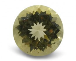 1.18 ct Heliodor 7mm Round