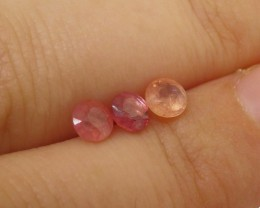 1 ct Pink Sapphire 4.5 Round