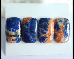 Natural African Sodalite Cabochon Set,26x16x5mm,83.5ct(17050611)
