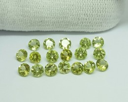 5.30 CT CALIBRATED PERIDOT LOT GEMSTONES FOR SALE