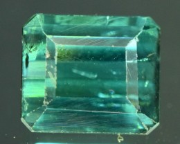 Untreated 3 ct Natural Indicolite Tourmaline from Afghanistan