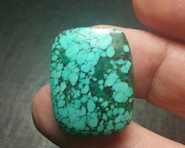 24mm Tibetan Turquoise CABOCHON 25ct