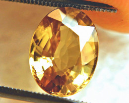 6.48 Carat Golden Yellow VVS1 Zircon - Superb