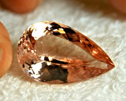 CERTIFIED - 28.53 Carat IF/VVS1 Brazil Morganite - Superb