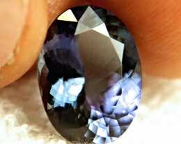CERTIFIED - 7.66 Carat African Tanzanite - Gorgeous