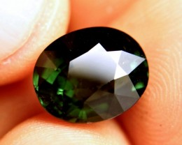 7.58 Ct. Elegant, Deep Green VS Tourmaline - Superb