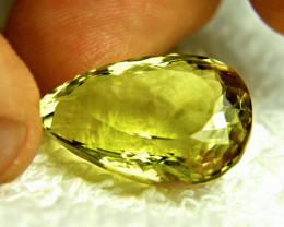 34.61 Carat VVS African Lemon Quartz - Gorgeous
