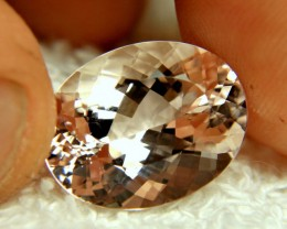 12.45 Carat Pink Brazil Morganite - Superb