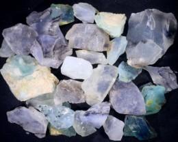 355.00 CTS PERU BLUE OPAL ROUGH PARCEL [F7111]