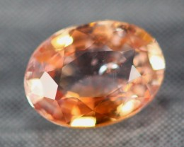 1.01Ct Natural Heated Only African Padparadscha Sapphire