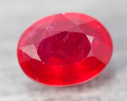 2.50Ct Pigeon Blood Red Madagascar Oval Cut Ruby