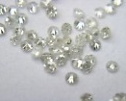 NATURAL WHITE DIAMOND-2-3PTS SIZE- 2CTWLOT-NR,LOWESTDEAL