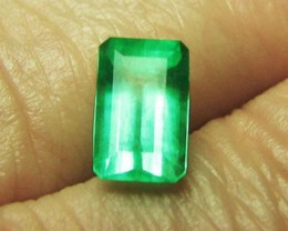 1.72 ct Super Clean Top Color Colombian Emerald