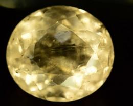 NR ~ 24.95 ct Rare Yellow Heliodor Gemstone
