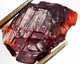 24 CTS AMAZING SPESSARTITE GARNET CRYSTAL [STS643]