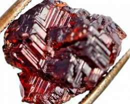 17.40 CTS AMAZING SPESSARTITE GARNET CRYSTAL [STS654]