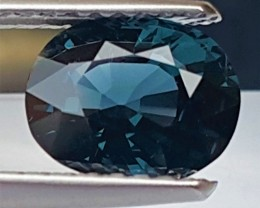 1.61cts, Blue Spinel, 100% Untreated,  VVS1 Eye Clean,
