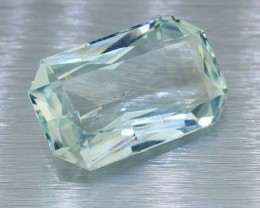 BIG SIZE UNTREATED Ceylon Aquamarine 17.22 Ct. (00756) Good Cut /Perfect Si