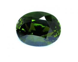 Untreated Certified 4.92 ct CHROME Tourmaline - (00774)