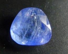Certified 3.38ct  Blue Burmese Sapphire , 100% Natural Untreated Gemstone
