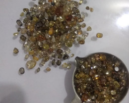 86ct  Fancy Colored Diamond Parcel , 100% Natural Untreated