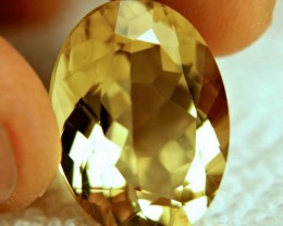 17.22 Carat Vibrant Golden Yellow IF/VVS1 Andesine
