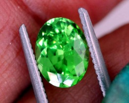 1.35 CTS NATURAL TSAVORITE GREEN GARNET  TBM-1154  GC