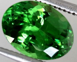 2.21 CTS NATURAL TSAVORITE GREEN GARNET  TBM-1156  GC