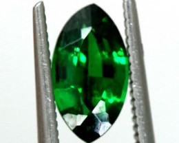 1.57 CTS NATURAL TSAVORITE GREEN GARNET  TBM-1158  GC