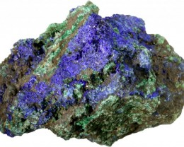 154.55 CTS AZURITE+ MALACHITE  ROUGH -CHINA [F7200]